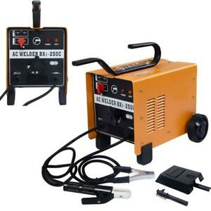 110v 220v Arc 250 Amp Welder Welding Machine Soldering Accessories Tools Weld