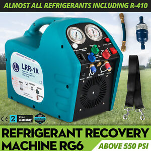 Robinair Rg6 Refrigerant Recovery Machine 2200rpm 38 5 Bar