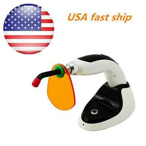 Usa Wireless Cordless Led Dental Curing Light Lamp 1800mw Whitening Accelerator