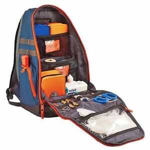 First Responder Medical Supply Backpack Bag For Ems Police Fire Fighter Trauma