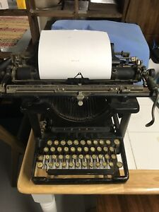 Remington Antique Typewriter From Early 1900 S Sn 381434 Working Order Vintage