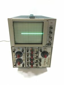 Tektronix Storage Oscilloscope 5110 With 5b10n 5a14n 5a18n Modules