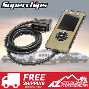 Superchips Flashpaq F5 Programmer 3874 98 14 Jeep Wrangler Cherokee Commander