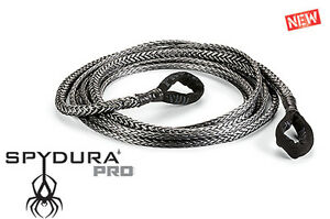 Warn 3 8 X 50 Spydura Pro Synthetic Extension Rope 12000 Lb Capacity Winch