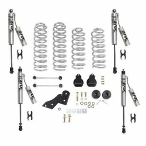 Rubicon Express Re7141fpr 2 5 Standard Coil Lift Kit With Fox Resi Shocks