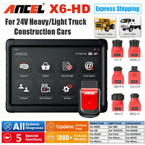 Heavy Duty Truck Diagnostic Tool For Airbag Dpf Abs 8 Win8 Tablet Xtuner T1
