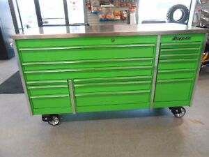 Like New Extreme Green Snap On Tool Chest Excellent Condition
