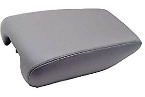 Fits 99 05 Lexus Gs300 400 430 Gray Vinyl Leather Center Console Armrest Cover