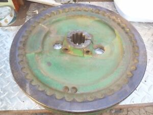 John Deere Unstyled Early Styled B Flywheel B1848r