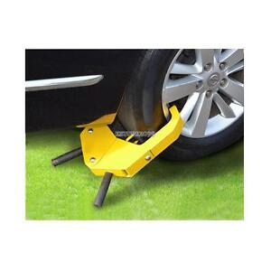 Steel Car Truck Autos Wheel Lock Clamp Boot Tire Claw Rv Boat Anti Theft New