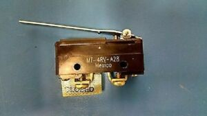 Mt 4rv a28 Honeywell Switch Snap Action Spdt Roller Lever 10a 128v Mt4rva28