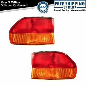 Taillight Taillamp Pair For Honda Odyssey 2002 2003 2004