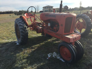 Allis Chalmers Wc Tractor Owned By A Descendant Of Laura Engels Wilder