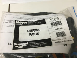 Meyer Snow Plow Light Adapter Harness Kit 07353 2007 Toyota Tundra Meyer 07353