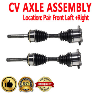 Front Pair Cv Axle Assembly For Toyota 4runner 86 95 Toyota Pickup 86 95 4wd