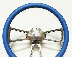 New World Motoring 1973 1976 Nova Steering Wheel Billet Aluminum