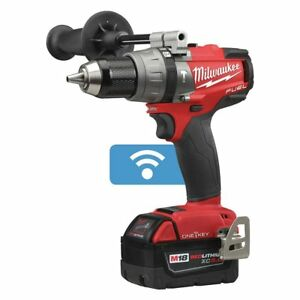Milwaukee 2706 22 W One Key 18 volt Lithium ion Cordless Hammer Drill Kit