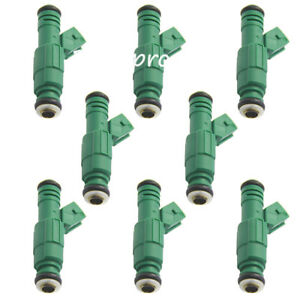 8x Fuel Injector For Bosch 42 Lb 0280155968 Motorsport Racing 440cc Chevrolet V8