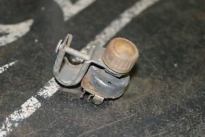 Vintage Ark less Fused Dash On off Heater Switch Lowrider Chulo Hot Rat Rod Trog