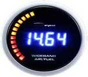 52mm Depo Racing Digital Wideband Air Fuel Ratio A f Gauge White Red Wa52772led