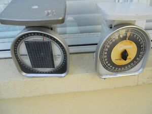 Pelouze Scale Pair Model Y50 Plus Y32 Made In The Usa 2 Scale Lot