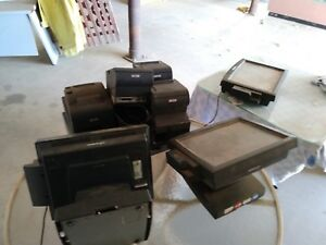 pos Point Of Sale System Three Terminals For Printers To Cash Drawers 5700
