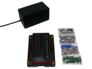 Bussmann Rtmr 15303 5 Waterproof Fuse Relay Panel Box With Terminals 12v Kit