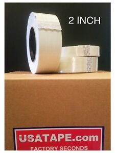 Lot Of 24 Rolls 2 Inch X 60 Filament Strapping Tape Factory Seconds F