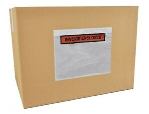 7 5 X 5 5 Invoice Enclosed Panel Face Envelopes Packing Supplies 20000 Pieces