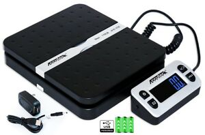 Accuteck Ship Pro 110lbs Digital Shipping Postal Scale Black Ups Mail Package