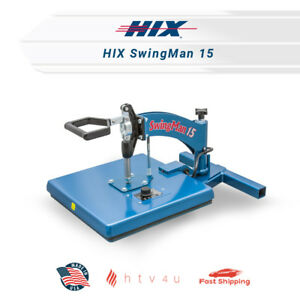 Hix Heat Press Swingman 15 free Shipping