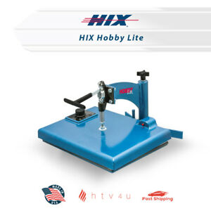 Hix Heat Press Hobby Lite free Shipping