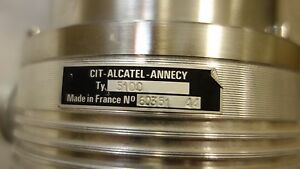 Cit Alcatel Annecy 5100 Turbomolecular Hv Turbo Vacuum Pump Ceramic