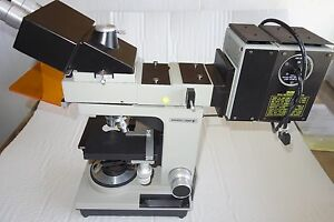 Bausch Lomb Microscope With 4 Objectives And Other Accessories