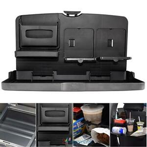 Car Auto Back Seat Universal Folding Table Drink Food Cup Tray Holder Stand Desk
