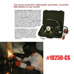 Ready Mig Welders Welding Mechines With Mig Spool Gun Rwii 10250 cs Supply 24v