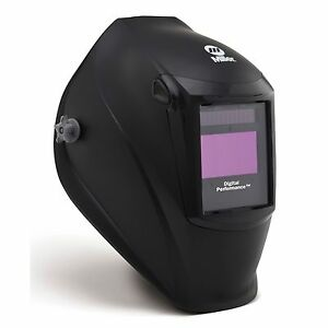 Miller Black Digital Performance Series Auto Darkening Welding Helmet 282000