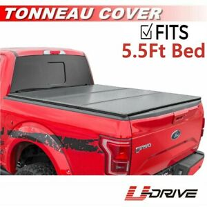 Soft Tri fold Tonneau Assemble Cover For 2004 2018 Ford F 150 5 5ft 66in Bed