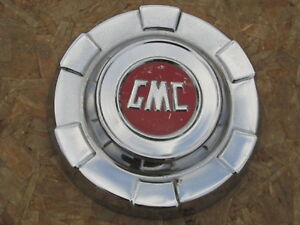 1961 1962 Gmc 1 2 Ton Pickup Truck Van Stainless Dog Dish Hubcap One canadian