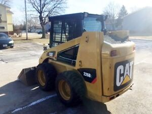 Only 100 Hours 2015 Caterpillar 226b3 Skid Steer Wheel Loader Cat 226 236
