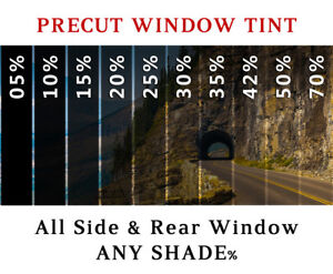 Precut All Sides Rear Window Film Any Tint Shade For Ford F250 Glass
