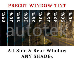 Precut All Sides Rear Window Film Any Tint Shade For Ford Fusion Glass