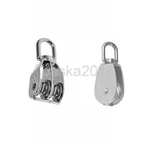 Double Single Pulley Swivel Sheave Lifting Rope Wheel Pulley Wheel M100