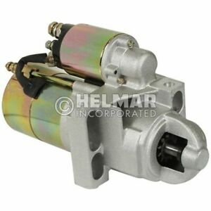 Hyster Forklift Starter 1640531 new Straight Drive no Gear Reduction Yes Volt 1