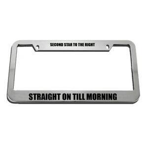 Air Force Chief Master Sergeant License Plate Frame Tag Holder
