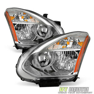For 2008 2013 Rogue Headlights Headlamps Replacement halogen Model Left right