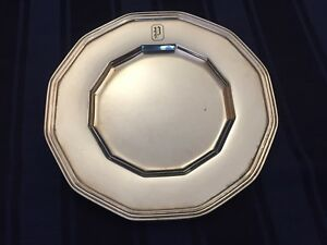 Set Of 12 Tiffany Sterling Silver Bread Plates