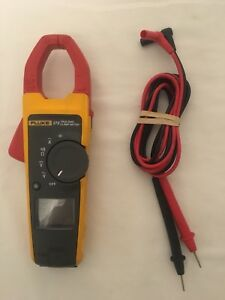 Fluke 373 True Rms Clamp Meter Used Read Description