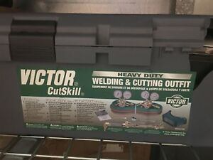 Victor Cutskill Brand New Heavy Duty Welding And Cutting Outfit Brand New