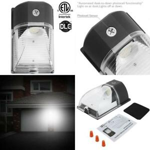 Outdoor Security Lighting Led Waterproof Wall Light 26w Dusk To Dawn Photocell